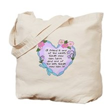 Friendship Heart 1 Tote Bag