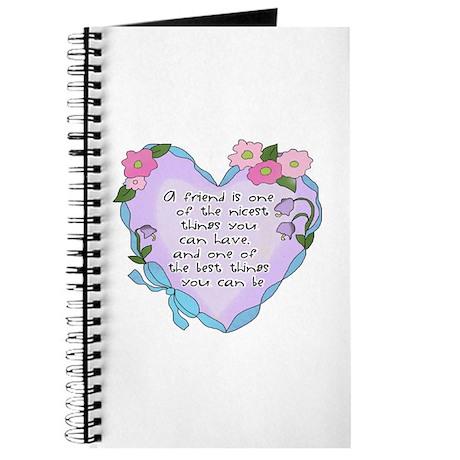Friendship Heart 1 Journal