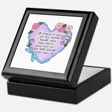 Friendship Heart 1 Keepsake Box