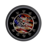 Coast guard Wall Clocks