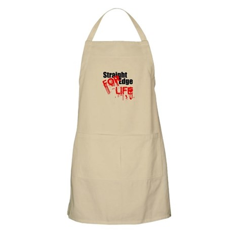 Straight Edge For Life BBQ Apron