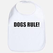 Dogs Rule! Bib