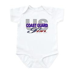 US Coast Guard Son Infant Creeper