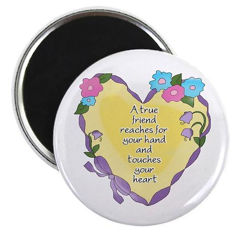Friendship Heart 2 Magnet