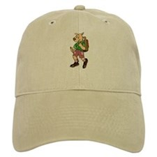 Hiking Dog Baseball Cap