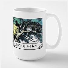Cheshire Cat Ceramic Mugs