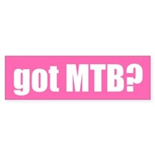 got MTB? Bumper Bumper Sticker