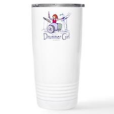 Drummer Girl Travel Mug