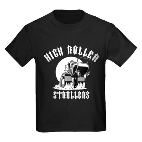 High Roller Strollers Kids Dark T-Shirt