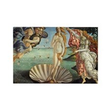 Birth of Venus by Botticelli Rectangle Magnet (10
