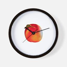 Atlanta Peach Wall Clock