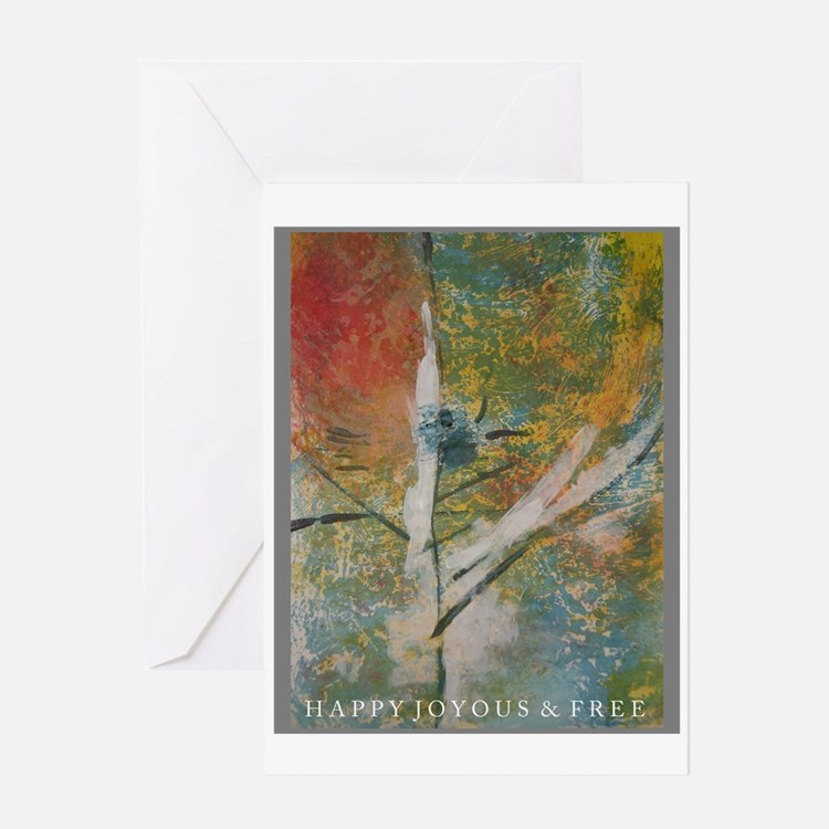 Recovery Art Greeting Card