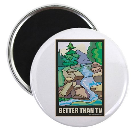 """Outdoors Nature 2.25"""" Magnet (10 pack)"""