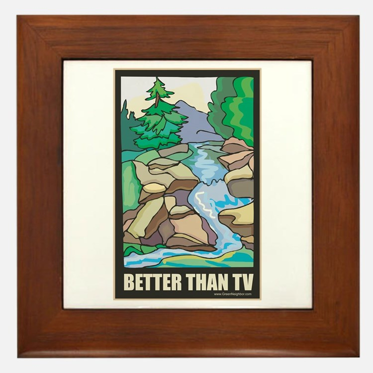 Outdoors Nature Framed Tile