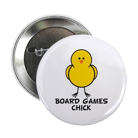 """Board Games Chick 2.25"""" Button"""