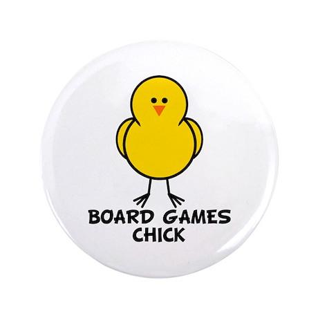 """Board Games Chick 3.5"""" Button"""