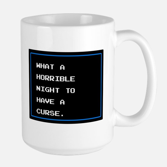 What A Horrible Night To Have A Curse Large Mug