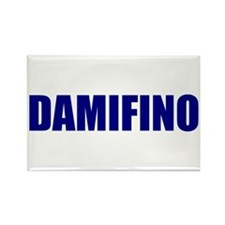 DAMIFINO blue Rectangle Magnet