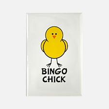 Bingo Chick Rectangle Magnet