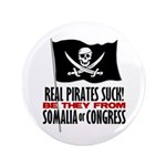 """Real Pirates Suck 3.5"""" Button (100 pack)"""