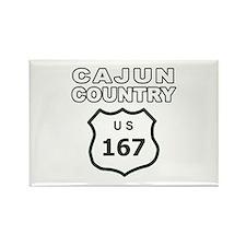 Cajun Country Rectangle Magnet
