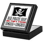 Real Pirates Suck Keepsake Box