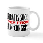 Real Pirates Suck Mug