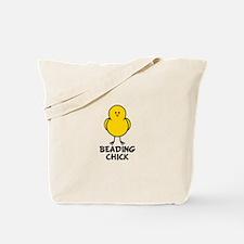 Beading Chick Tote Bag
