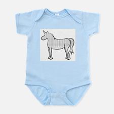 Binary Unicorn Infant Bodysuit