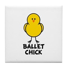 Ballet Chick Tile Coaster