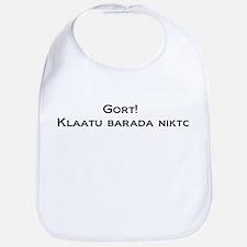 Gort Klaatu Barada Nikto Bib