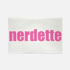 nerdette Rectangle Magnet