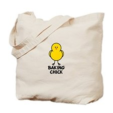 Baking Chick Tote Bag