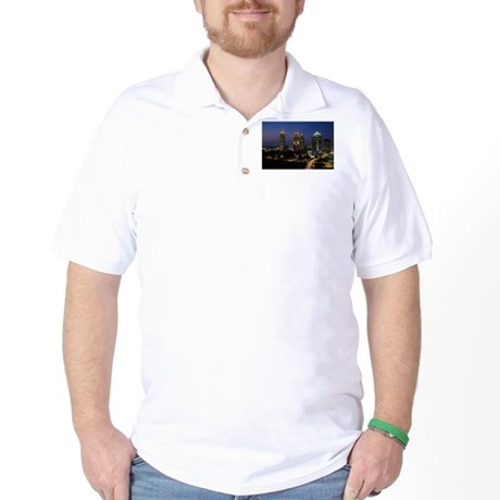 Atlanta City Skyline Golf Shirt