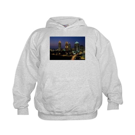 Atlanta City Skyline Kids Hoodie