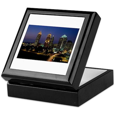 Atlanta City Skyline Keepsake Box