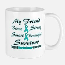 Ovarian Friend Words Mug