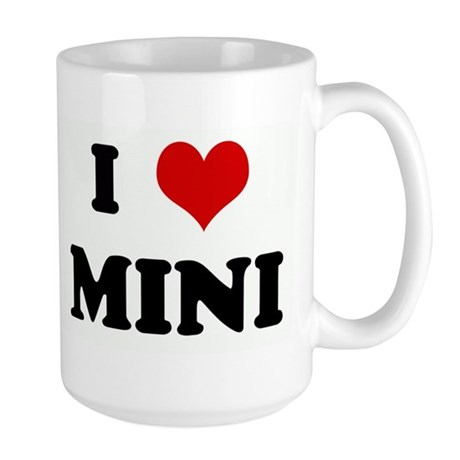I Love MINI Large Mug
