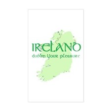 Dublin Rectangle Decal