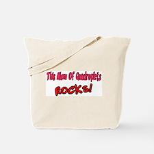 This Mom Of Quadruplets ROCKS! Tote Bag