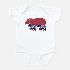 Tapir Family B Infant Bodysuit