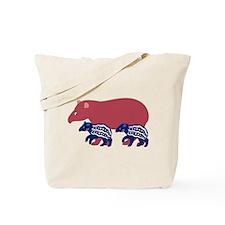 Tapir Family B Tote Bag