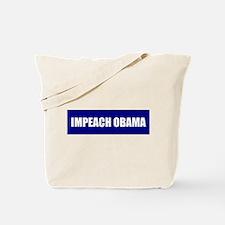 Impeach Obama Blue Tote Bag
