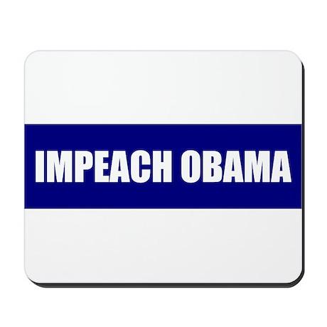 Impeach Obama Blue Mousepad