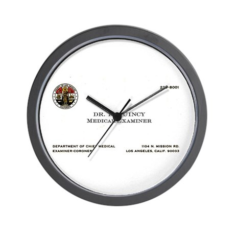Doctor Quincy Wall Clock