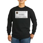 Doctor Quincy Long Sleeve Dark T-Shirt