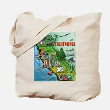 Cute Caricature Tote Bag