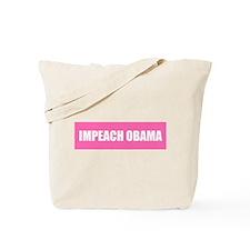 Impeach Obama Pink Tote Bag