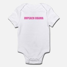 Impeach Obama Pink Infant Bodysuit
