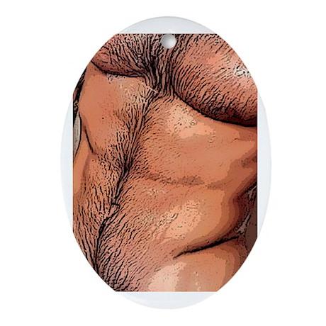www.AriesArtist.com Oval Ornament